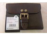Mulberry leather Roxanne purse/wallet