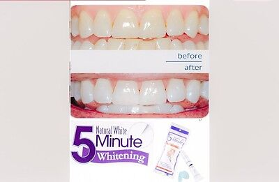 [FREE MINT GUM] SALE!! NATURAL WHITE BEST TEETH WHITENING - NO BLUE LIGHT