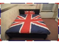 1 FURNISHED DOUBLE BEDROOM FOR ONE PERSON WITH GYM ROOM & PC, NEAR UEL LONDON E6, NO COUPLES
