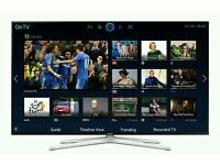 """Samsung 55"""" LED smart 3D wifi built USB MEDIA PLAYER HD FREEVIEW and freesat Screen"""