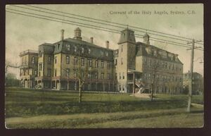 Canada-SYDNEY-Convent-of-Holy-Angels-1906-PPC
