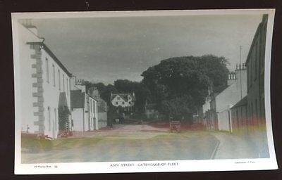 Scotland Kirkcudbrightshire GATEHOUSE-OF-FLEET Ann St RP PPC 1920s?