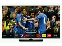 """Samsung 40"""" LED smart 3D wifi built USB MEDIA PLAYER HD FREEVIEW and freesat full hd 1080p ."""