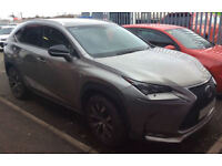 LEXUS NX 300H 2.5 F SPORT ADVANCE PREMIER LUXURY EXECUTIVE FROM £129 PER WEEK!