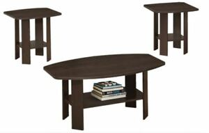 Brand New 3pc Coffee Table Set! Call 905-432-2000