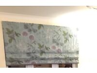 Next floral blind 180cm with fittings