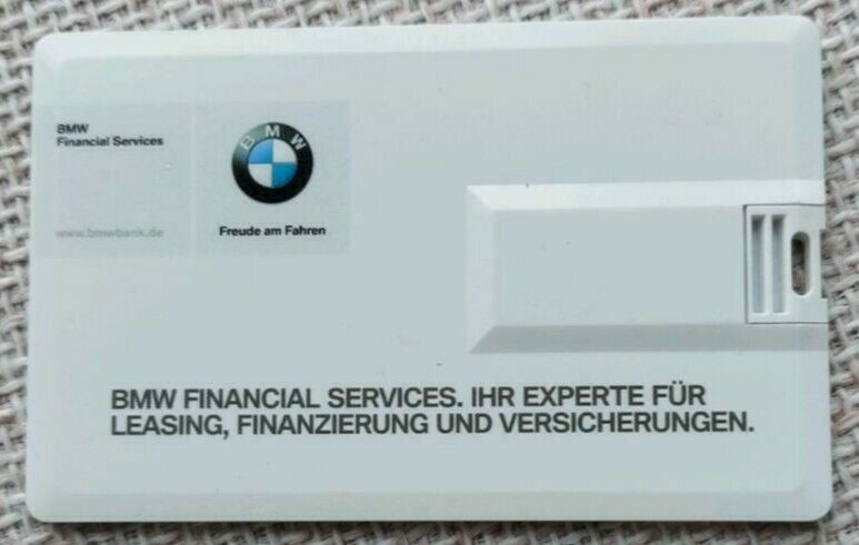 Slim Credit Card Usb Stick Bmw 8gb In Hessen Mörfelden Walldorf Speicher Gebraucht Kaufen Ebay Kleinanzeigen