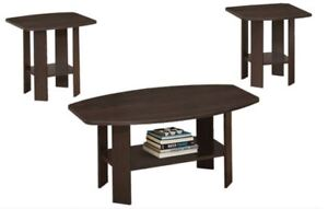 Brand New 3pc Coffee Table Set! Call 204-772-3330