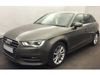 Grey AUDI A3 SALOON 1.4 1.6 1.8 2.0 TFSI Petrol S LINE S-T FROM £51 PER WEEK!
