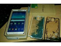 Samsung galaxy note 3 white 32gb factory unlocked boxed £130