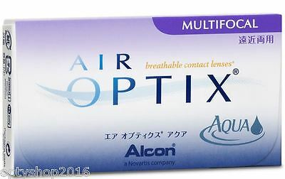 Air Optix Aqua Multifocal  von Alcon  1x3 TOP Monatslinsen Alcon 3 Kontaktlinsen