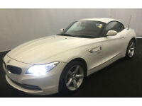 White BMW Z4 2.0 Petrol 2014 sDrive18i FROM £62 PER WEEK!