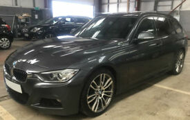 Grey BMW 330D 3.0 M Sport Touring Estate FROM £51 PER WEEK!