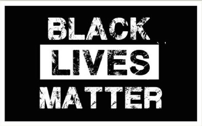 "Home Decoration - Black Lives Matter Car Window 5"" Vinyl Decal Sticker Floyd George"