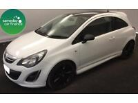 £116.76 PER MONTH 2013 VAUXHALL CORSA 1.3 CDTi E/F LIMITED EDITION 3 DOOR MANUAL