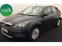 £124.81 PER MONTH GREY 2010 FORD FOCUS 1.6 TITANIUM 5 DOOR PETROL MANUAL