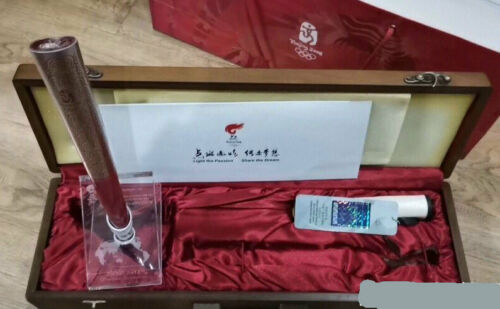 Beijing 2008 Olympic Torch - Super Rare Collectors Piece!