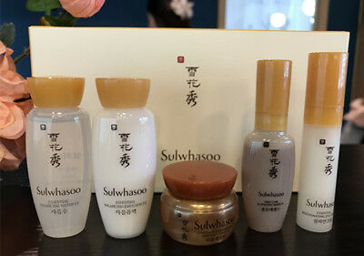 Sulwhasoo Basic Kit5 Amore Pacific Essential Balancing Water Emulsion Free Gift