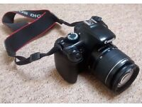 Canon EOS 1100D with Standard Lens Kit