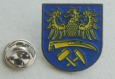 Oberschlesien Schlesien  Wappen Pin Anstecker Badge Button TOP