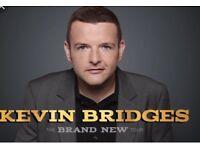 Saturday 20th Oct, Floor seats X 4 Blocks 001/011 Glasgow Hydro . Kevin Bridges .