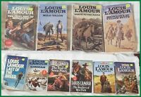Louis L'Amour Western Pocket Novels ---Lot of 10