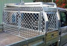 TJ CUSTOM CAGES - Custom Aluminium Ute Dog Cages Whiteside Pine Rivers Area Preview