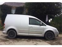 VW Caddy 1.9 TDI silver camper day van