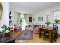 Spacious double bed room available in a period 2 bed garden flat in Abbeville Village, Clapham, SW4