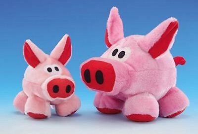 Plüsch Schwein Coole Sau Hundespielzeug 3 Größen (Cool Hund Spielzeug)