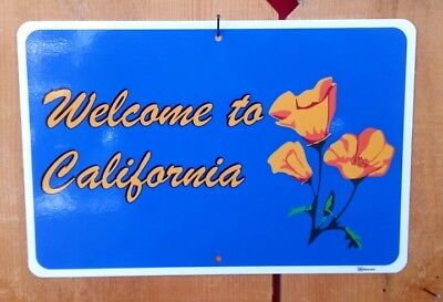 """Welcome to California"" Scenic Byway Route sign"