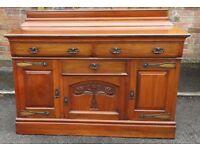 Edwardian mahogany sideboard