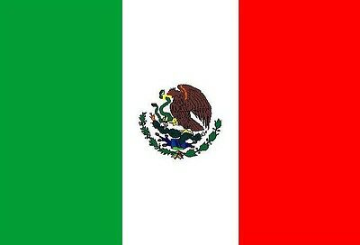 MEXICO FLAG 5FT X 3FT