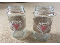 Rustic wedding decorations assorted items