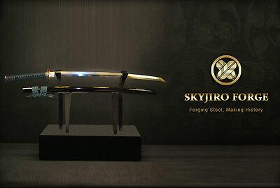 SKYJIRO FORGE KUMO JAPANESE NIHONTO SHINKEN SAMURAI SWORD KATANA SIGNED PAPER