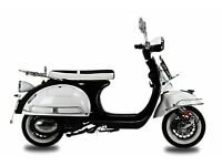 *Brand New* 66 plate AJS Modena Learner 125 Scooter. Warranty. Free Delivery. Part-ex 08-12