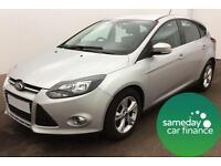 £157.37 PER MONTH SILVER 2012 FORD FOCUS 1.6 ZETEC P/S 5 DOOR AUTO PETROL