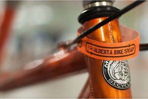 Red Deer Bike Swap - annual non-profit event MAY 13, 2016
