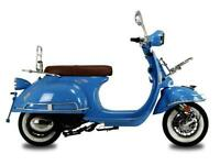 AJS Modena 125cc 125 Retro Moped learner legal full warranty