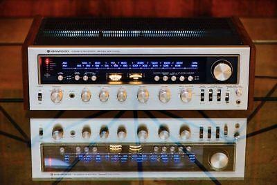 INCANDESCENT KR-9400 KIT VINTAGE STEREO RECEIVER(14-LAMPS)METER FRONT DIAL PANEL