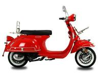 AJS Modena 125cc Vintage Scooter-Retro-Brand New 2021- Limited Stock Be Quick