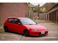 WANTED HONDA CIVIC 3 DOOR EF EG EJ EK 1.4 1.5 SHAPE UP TO £400 TO SPEND DEPENDING ON CONDITION