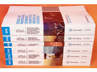 2016 CFA Level 2 Official Curriculum Books PRINT EDITION 2016 Full Set II