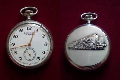 Molnija Serkisof SOVIET Russian Pocket Watch