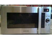 DAEWOO 28 LITRE 900W COMBINATION MICROWAVE **FREE LOCAL DELIVERY**