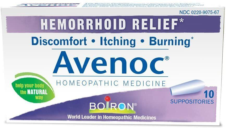Supositorios para Aliviar las Hemorroides Picazon Ardor Hemorrhoid Relief Natura