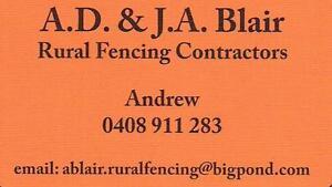 AD & JA Blair Rural Fencing Cardup Serpentine Area Preview