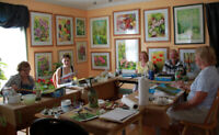 Spring outdoor/indoor painting classes and fun painting