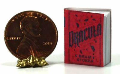 Dollhouse Miniature Halloween Scary Dracula Book](Scary Scary Halloween Book)