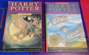 ▀▄▀2 Harry Potter Books PRINT ERRORS (10987654321)PB